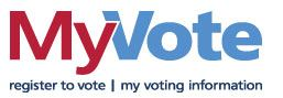 MyVote Logo Opens in new window