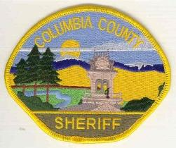 Columbia County Sheriff uniform patch
